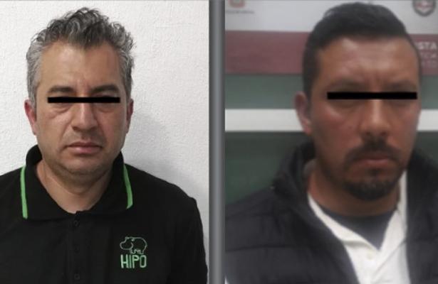 Detienen a dos sanguinarios feminicidas en Tlalnepantla