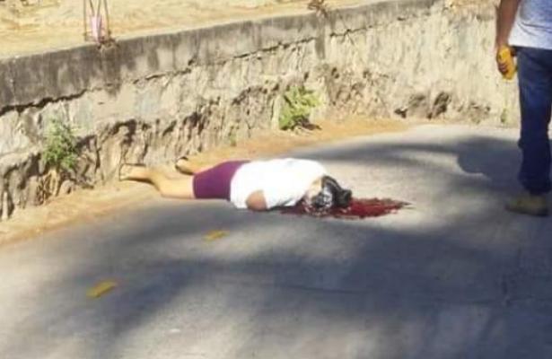 Mujer ejecutada a balazos en Jamiltepec
