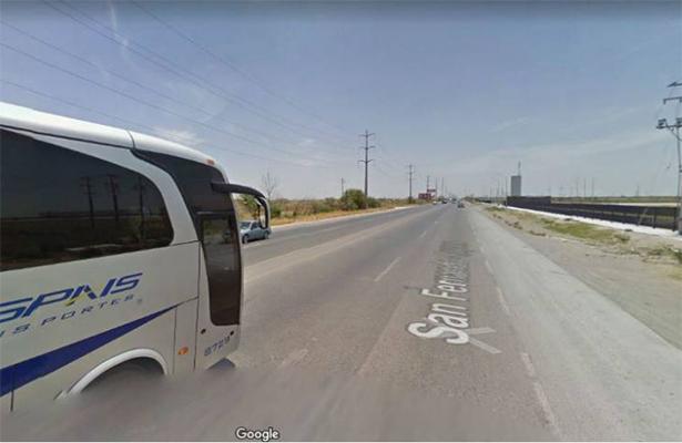 Secuestran a 19 pasajeros de un autobús en la San Fernando-Reynosa