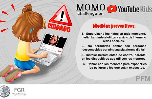 FGR emite recomendaciones en el uso de videos por internet para menores