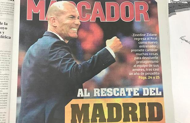 Quiero mucho al Real Madrid; no podía decir que no: ZIzu