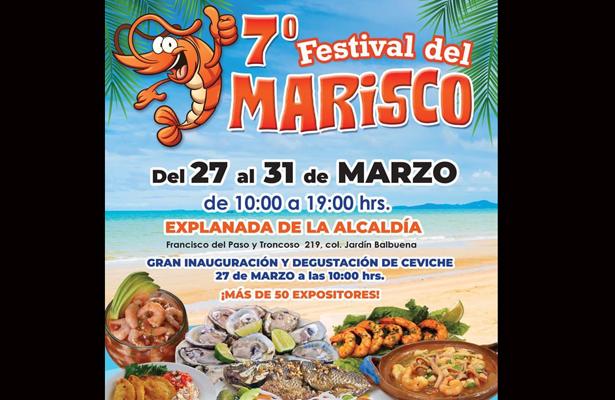 Se realizará el 7º. festival del marisco en la V. Carranza
