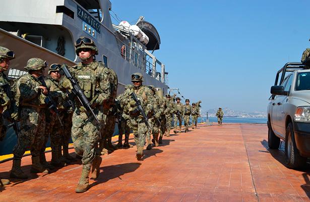 Asesinan a dos marinos en Acapulco. CNDH condena la muerte