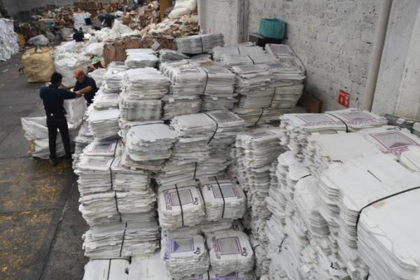 Destruyen 17 toneladas de material electoral usado en 2017 y 2018