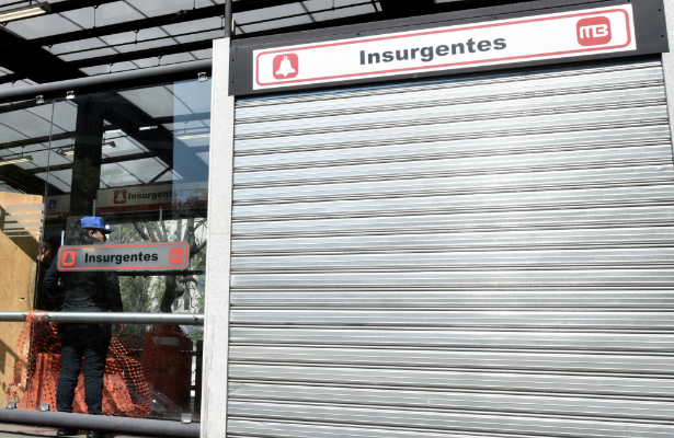 Abuelita fallece de un infarto en Metrobús Insurgentes