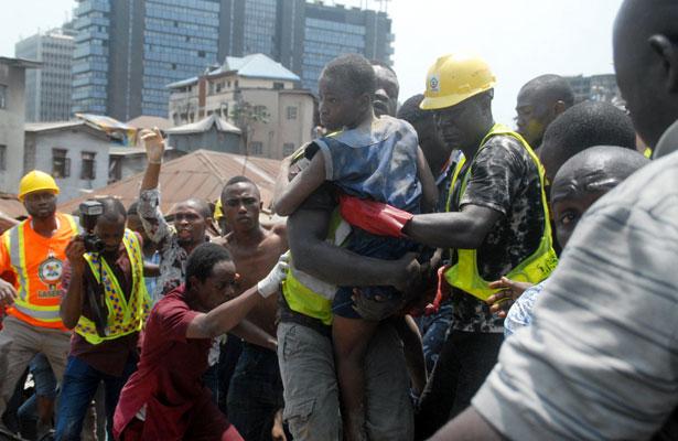 Concluye labores de rescate en Nigeria; hubo nueve muertos