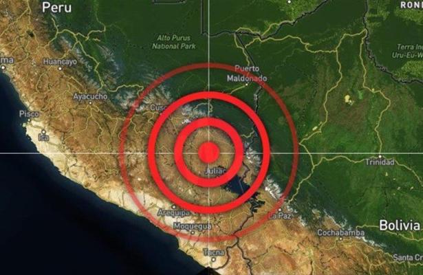 Se registró sismo de 7 grados en Perú