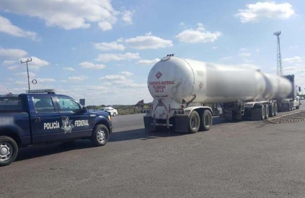 Aseguran más de 40 toneladas de gas LP