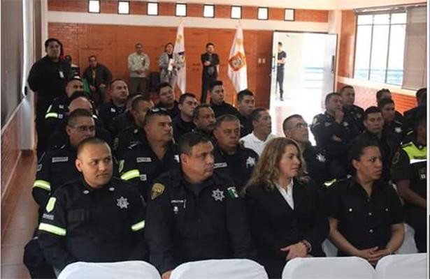 Profesionalizan a policía del Estado de México