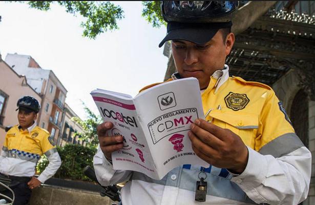 Publica SSC nombre de policías autorizados para infraccionar