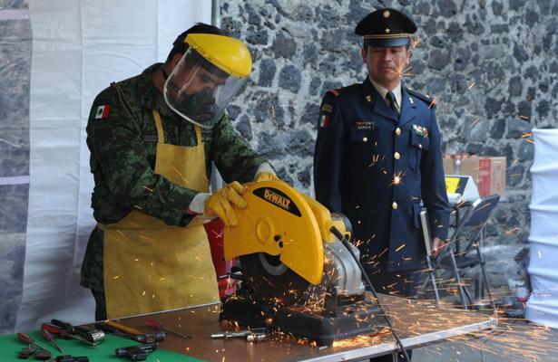 Arranca desarme voluntario en la alcaldía de Coyoacán