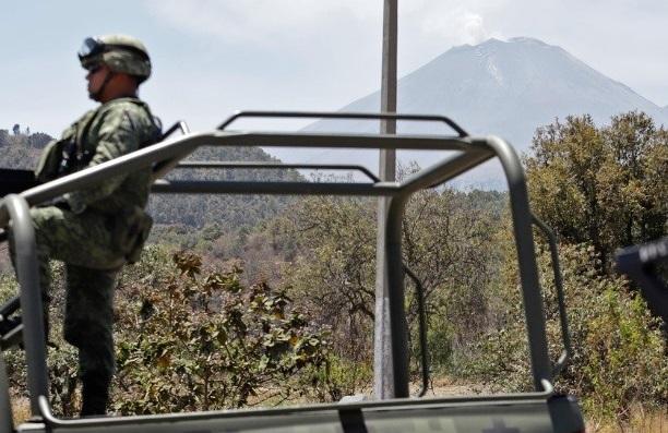 Puebla, preparado ante la actividad del Popocatépetl