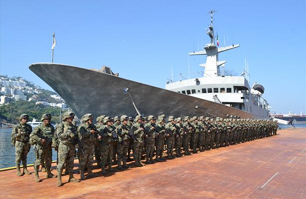 La SEMAR releva al personal que desarrolla operaciones de seguridad interinstitucional en Acapulco, Guerrero