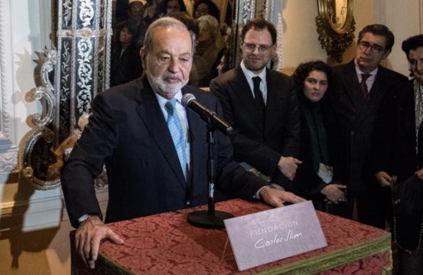 Carlos Slim se retirará este sexenio: AMLO