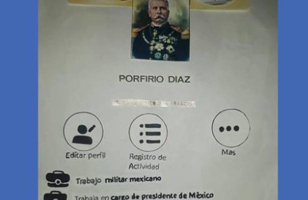 Porfirio Díaz ya tiene facebook gracias a la tarea d