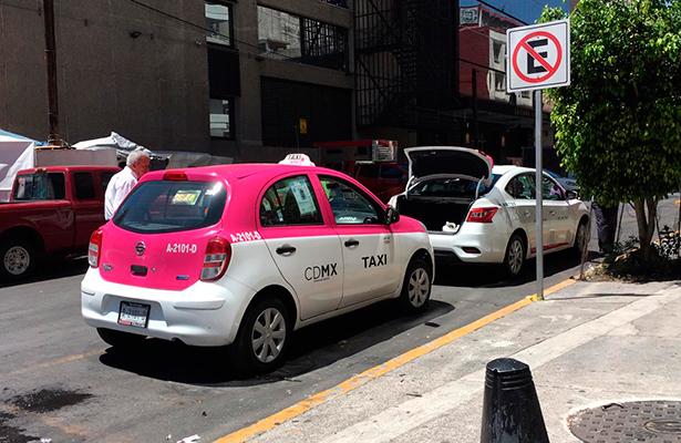Base de taxis irregular