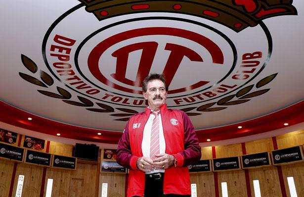 Ricardo La Volpe fue el bueno para Toluca