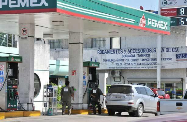 En guanajuato, Sinaloa y Chiapas, se vende más cara la gasolina