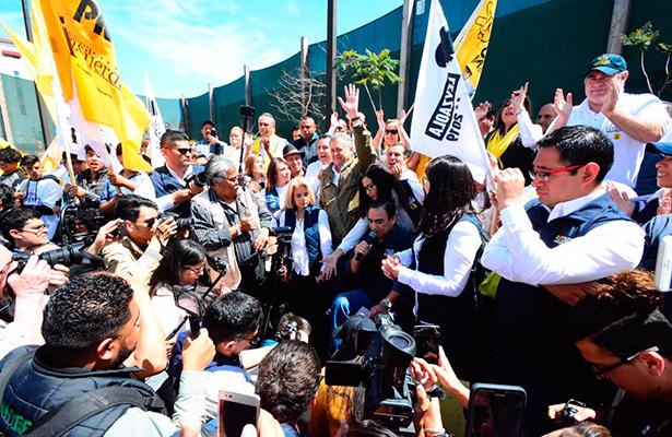 PRD arranca campañas locales  con candidatos ciudadanos