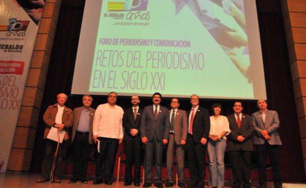 El Heraldo de Chihuahua ha hecho historia en el estado: Javier Corral