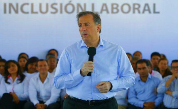 Trabajaremos para que mujeres tengan piso parejo: Meade en gira por Puebla