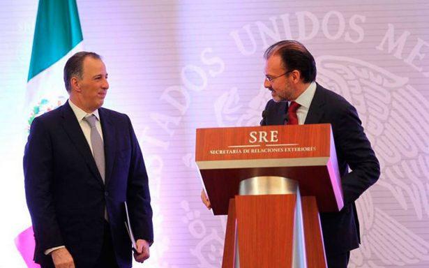 Bajo liderazgo de Meade, México tiene rumbo y estabilidad: Videgaray