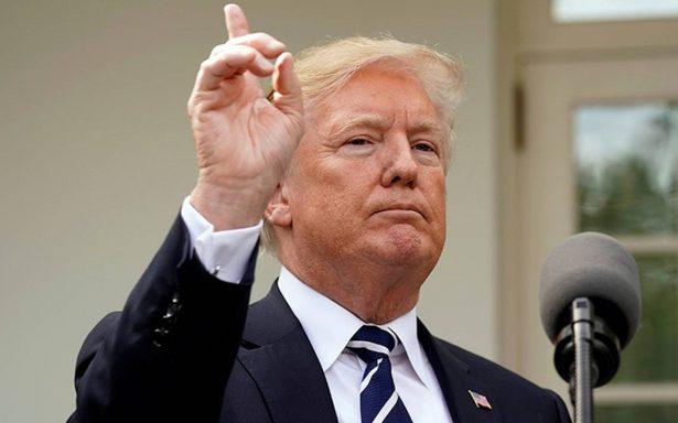 """Trump anuncia que hará una """"declaración importante"""" al llegar a Washington"""