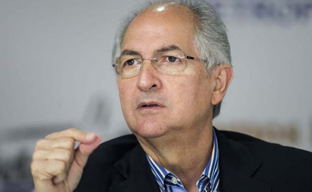 Antonio Ledezma, líder opositor en arresto domiciliario, escapa de Venezuela