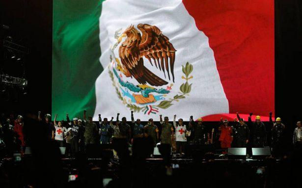 Estos son los momentos más emotivos del concierto Estamos Unidos Mexicanos