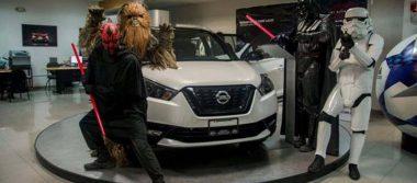 ¿Jedi o Sith? Presentan Nissan Kicks Dark Light en Mexicali