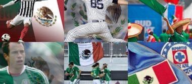 ¡Orgullo mexicano! El mundo deportivo celebra el Día de la Bandera