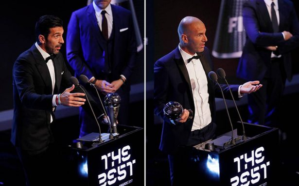 [En Vivo] Buffon se corona como el mejor portero y Zidane como entrenador en 'The Best' de la FIFA