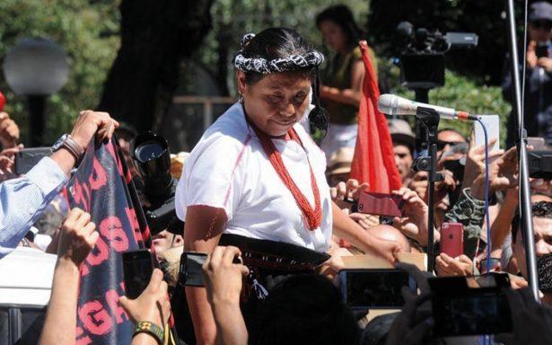 Candidata independiente Marichuy iniciará gira en territorio zapatista