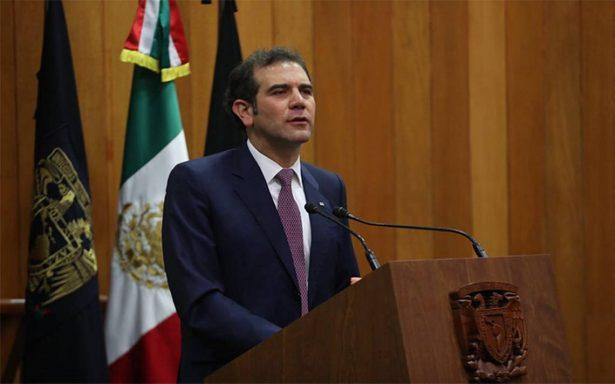 Tiene INE armas antitrampas: Lorenzo Córdova