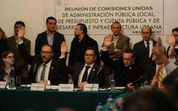 Aprueban en comisiones de la ALDF dictamen de Ley de Reconstrucción; va al Pleno