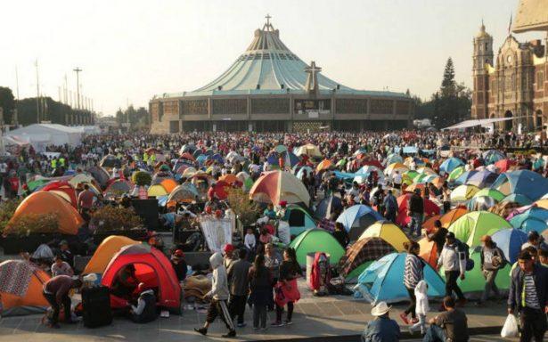 Más de tres millones de feligreses han llegado a Basílica de Guadalupe