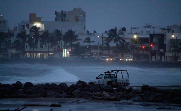 Huracán Franklin deja saldo blanco tras su paso por Golfo de México