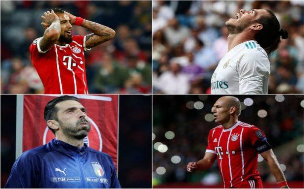 Estas son las estrellas que no jugarán el Mundial de Rusia 2018