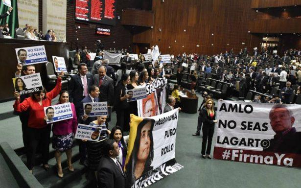Inconstitucionales donaciones de Anaya, Barrales y AMLO