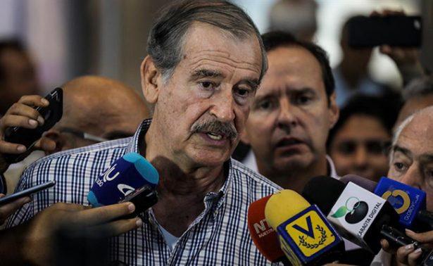 Fox y expresidentes llegan a Venezuela previo a plebiscito contra Maduro