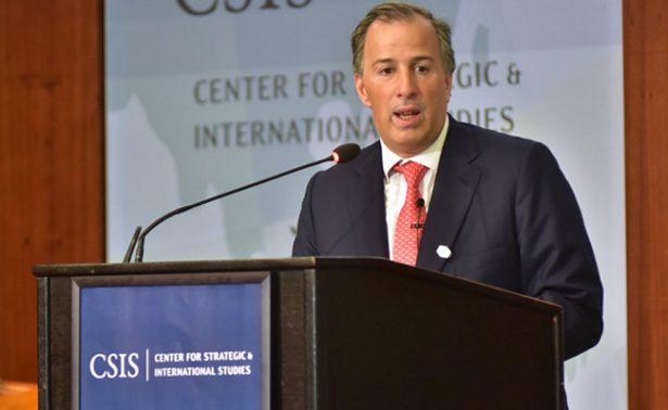 """México y EU lograrán un """"buen acuerdo"""" con la modernización del TLCAN: Meade"""