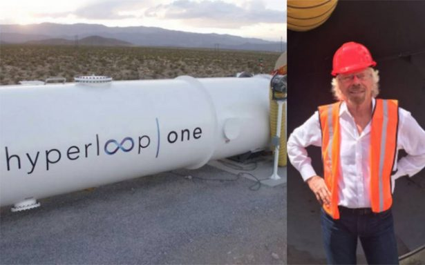 Virgin apuesta por Hyperloop One, tren a velocidad casi 'supersónica'