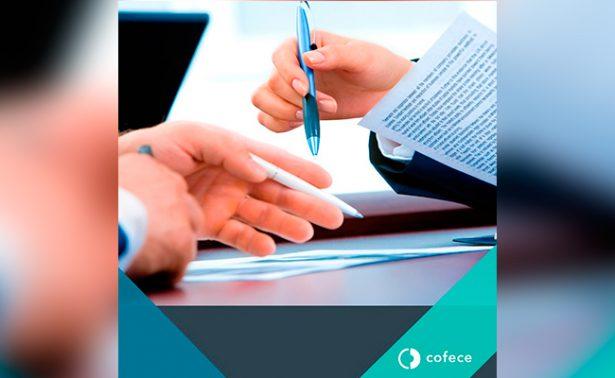 Cofece atiende procedimientos en su mayoría por prácticas monopólicas y concentraciones
