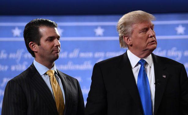 Trump intervino en declaraciones de su hijo sobre polémica con Rusia