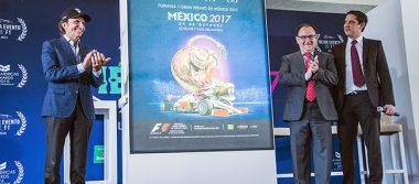 Poster del Gran Premio Nacional muy mexicano