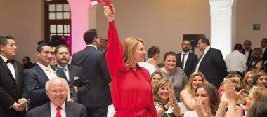 Reconoce Angélica Rivera de Peña la labor y solidaridad de la Cruz Roja