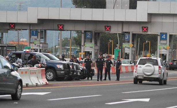 Cierran circulación en autopista Cuernavaca-Acapulco