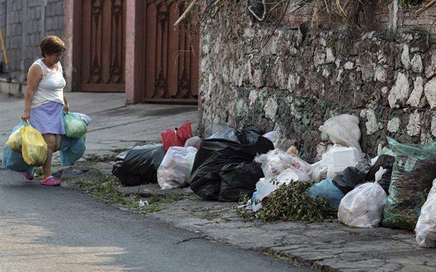 Cada capitalino tira en promedio hasta 2.4 kilogramos de basura