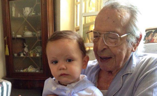 Don Juan Silveti, un joven a los 88 años