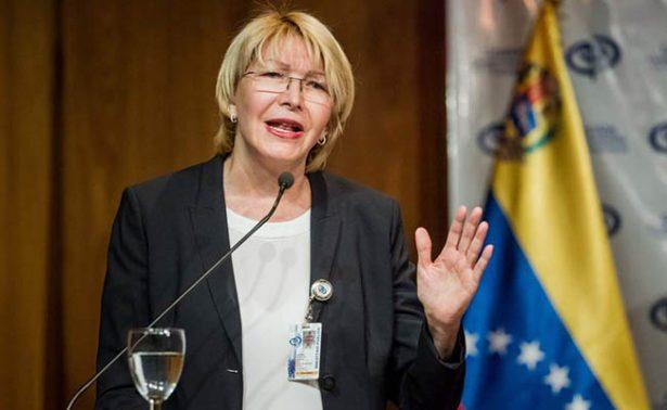 Venezuela solicitará a interpol una orden de captura contra exfiscal Luisa Ortega